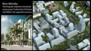 Centre commercial - Modélisation 3D sur Nice