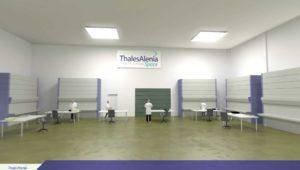 Thales Alenia Space - Modélisation 3D sur Nice