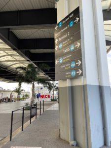 Graphiste Nice | Aeroport de Nice | Pictogramme | 002