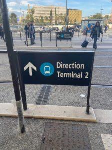 Graphiste Nice | Aeroport de Nice | Pictogramme | 003