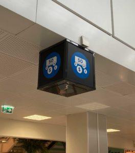 Graphiste Nice | Aeroport de Nice | Pictogramme | 005